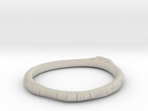 Minimalist Bracelet 6 in Natural Sandstone