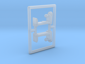 """Spiel - game """"Boxautomaten"""" 1:220 (z scale) in Frosted Ultra Detail"""