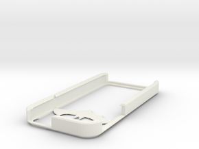 Batman iPhone 5 case in White Natural Versatile Plastic