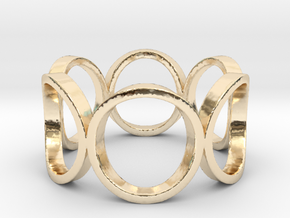 Circle of Life Ring Size 10 in 14K Gold