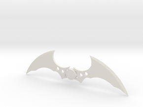 Arkham Batarang in White Natural Versatile Plastic