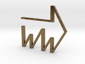 Wrightway in Raw Bronze