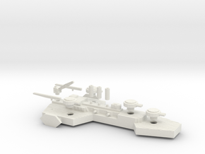 Prague Class Cruiser Mk 2 in White Natural Versatile Plastic