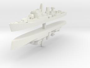 Commandante Riviera B 1:2400 x2 in White Natural Versatile Plastic