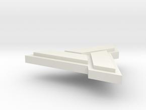 AC:Abstergo Pendant in White Natural Versatile Plastic