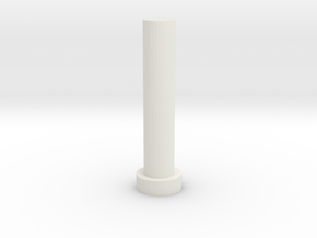Gearbox Shaft in White Natural Versatile Plastic