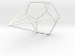 Boa Wireframe 1-300 in White Strong & Flexible