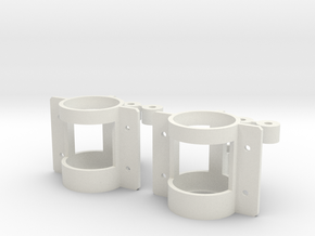 bimRC 10mm 5:1 Gearbox (x2) in White Strong & Flexible