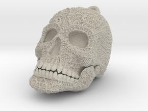 Tibetan Sugar Skull - MEDIUM in Natural Sandstone