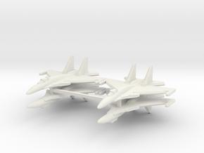 Su-37 1:600 x4 in White Natural Versatile Plastic