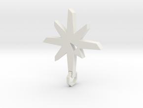 New Pendant V2 Final in White Natural Versatile Plastic