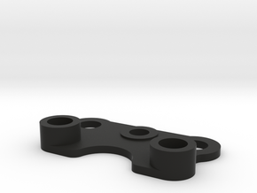 C2-battery Retainer, M02 Chassis in Black Strong & Flexible