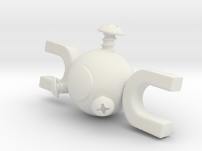 Magnemite Standalone in White Strong & Flexible
