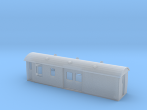 30ft Guards Van, New Zealand, (N Scale, 1:160) in Smooth Fine Detail Plastic