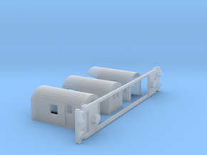 AG Capital Connection, NZ, (HO Scale, 1:87) in Smooth Fine Detail Plastic