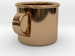 1/6 Scale WWII British Drinking Cup (1) in Polished Brass