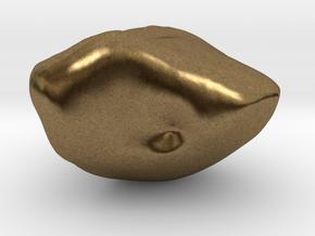Lunate in Natural Bronze
