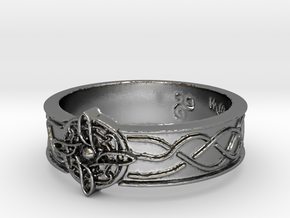 Ring of Mara Size 7 in Polished Silver