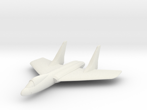 F7U Cutlass 1:285 x1 in White Natural Versatile Plastic