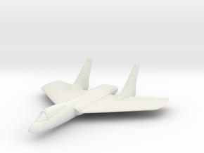F7U Cutlass 1:285 x1 in White Strong & Flexible