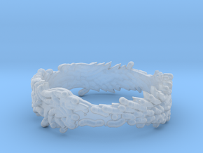 OuroBoros Ring Size 11.25 in Smooth Fine Detail Plastic