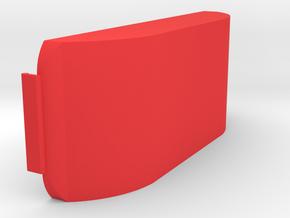 Camera Cover in Red Processed Versatile Plastic