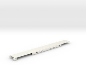N Scale Rocky Mountaineer B Series Floor in White Natural Versatile Plastic