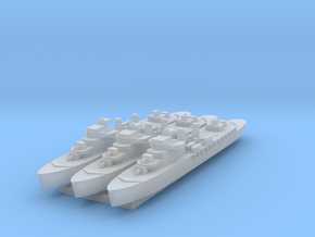Bougainville 1:2400 x3 in Smooth Fine Detail Plastic