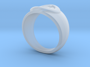 4 Elements - Earth Ring in Smooth Fine Detail Plastic