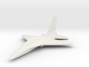 1/285 (6mm) T-50 Eagle Trainer Korean in White Natural Versatile Plastic