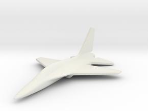 1/285 (6mm) T-50 Eagle Trainer Korean in White Natural Versatile Plastic