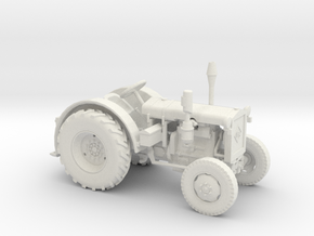 Ackerschlepper RS01 Pionier (1:45) in White Natural Versatile Plastic