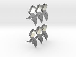 Sheryl heart trinket version 1 in Natural Silver