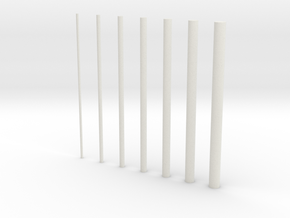 thin rods inc 0 5 in White Strong & Flexible