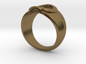 4 Elements - Air Ring in Natural Bronze