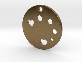 Love Disk v1 in Natural Bronze