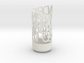 Dream & Love in White Natural Versatile Plastic