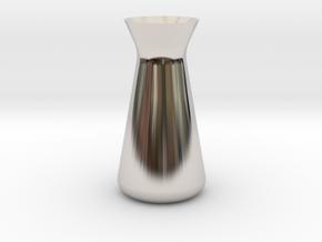 Designer Vase (Mini) in Platinum