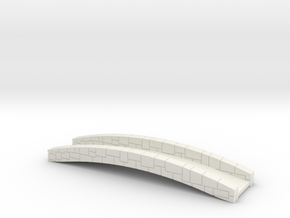 Bridge 2.0 in White Natural Versatile Plastic