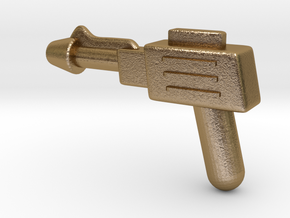 MOTU replacement pistol for Castle Grayskull in Polished Gold Steel