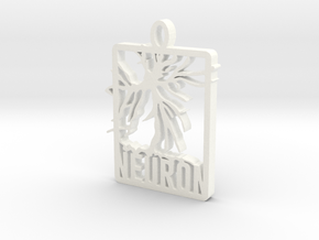 Neuron Pendant in White Strong & Flexible Polished