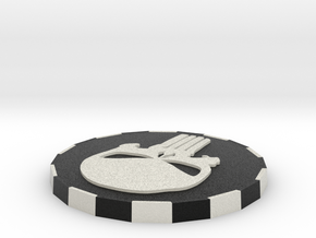 Punisher Card Cover in Full Color Sandstone
