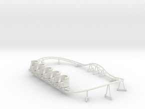 Loonylagoon Track and Train in White Natural Versatile Plastic