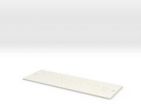 by kelecrea, engraved: ???????? ????? in White Natural Versatile Plastic