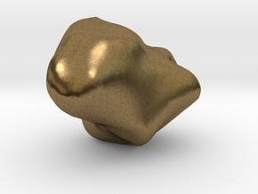 Trapezium in Natural Bronze