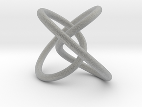 Rolling Knot in Metallic Plastic