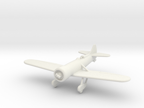 GAAR12 Gee Bee Y 1932 in White Natural Versatile Plastic