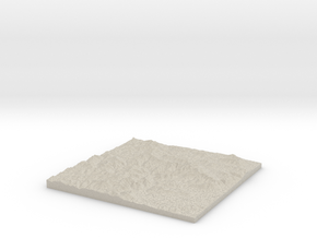 Model of Chichester in Natural Sandstone