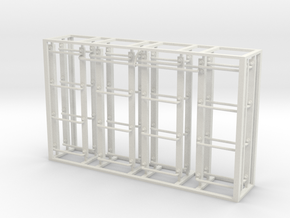 Modern boxcar ladder set in White Natural Versatile Plastic