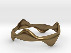 Tripod Bracelet in Natural Bronze